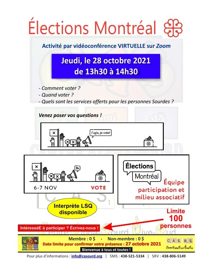 Élections Montréal